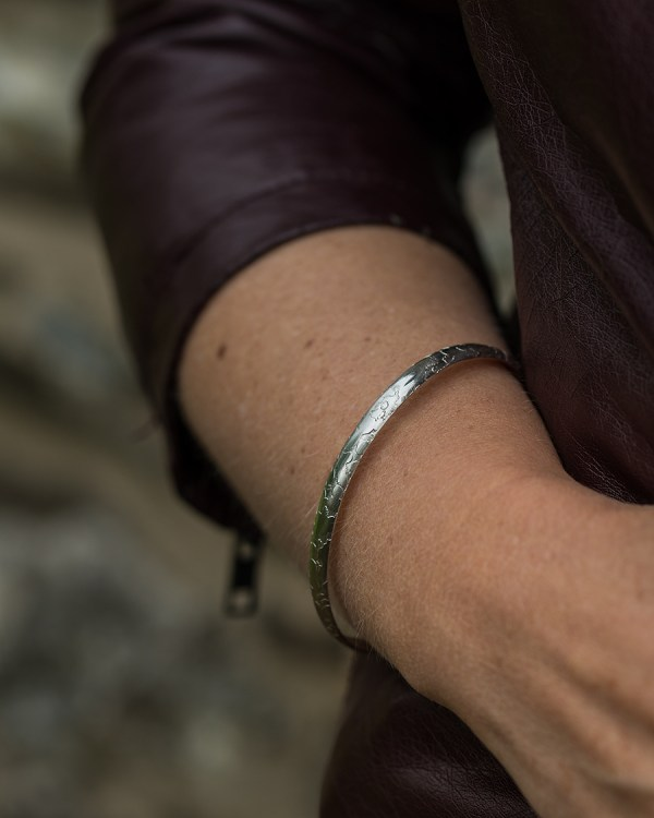 Ethical Eco Friendly Silver Bangle | Lisa Rothwell-Young