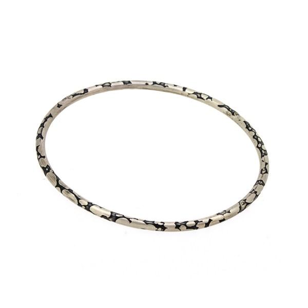 Eco Friendly Recycled Silver Bangle | Lisa Rothwell-Young