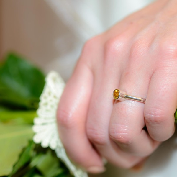Ethical Silver Engagement Ring | Lisa Rothwell-Young