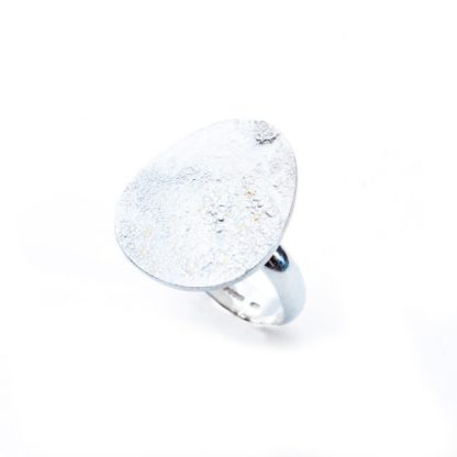 Sterling silver and keum bo ring
