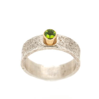 Eco friendly silver and gold ring | Lisa Rothwell-Young
