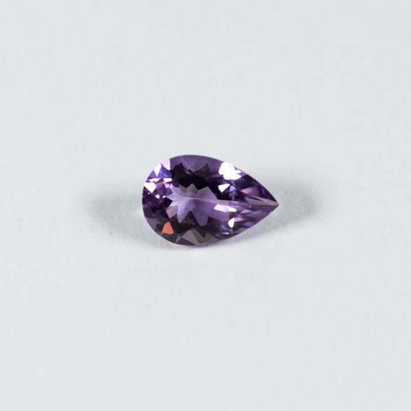 Ethical Pear Shaped Amethyst|Lisa Rothwell-Young