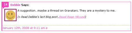 Comment with default gravatar