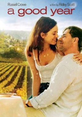 A Good Year; Russell Crowe and Marion Cotillard