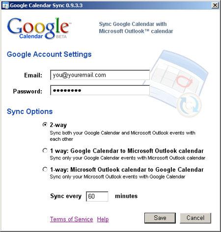 Google Calendar Sync - Sync your Outlook with your Google Calendar