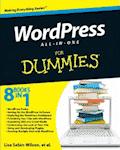 WordPress All In One For Dummies by Lisa Sabin-Wilson, et al