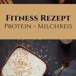 Fitness Rezept Protein Milchreis