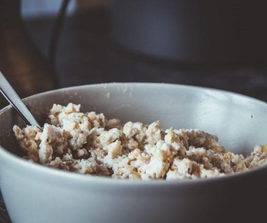 Fitness Rezept Protein Porridge mit Nährwerten. Basisrezept. Grundrezept.