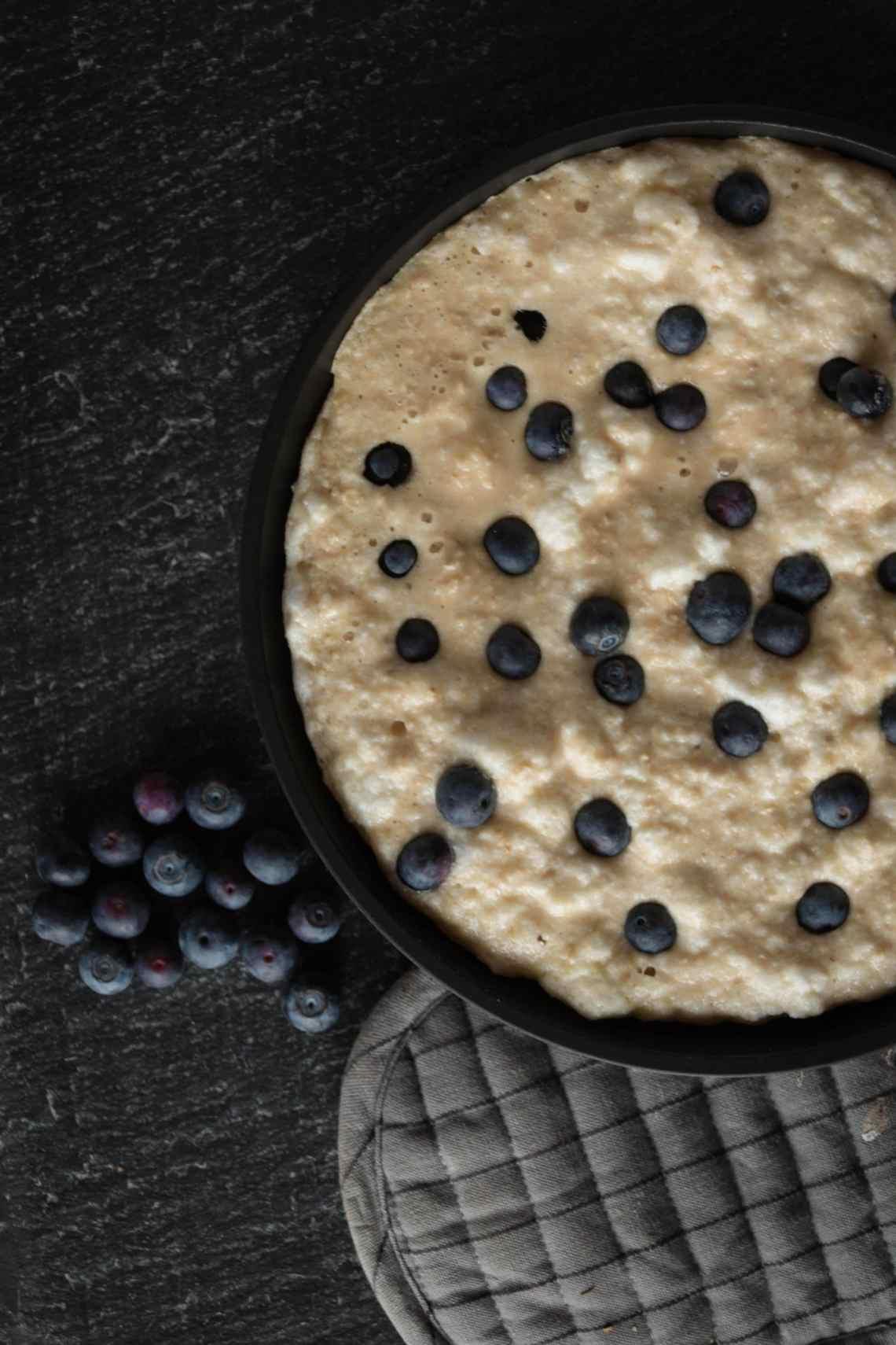 Protein-Kaiserschmarrn aus der Pfanne. Tolle Nähwerte und leichte Zubereitung.