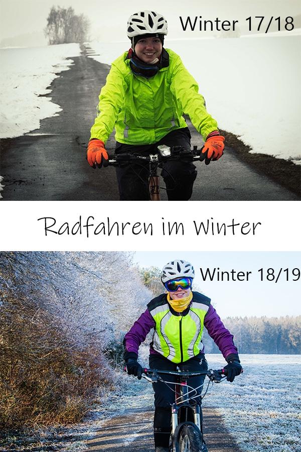 Radfahren im Winter - die richtige Ausrüstung und Kleidung für kalte Tage auf dem Fahrrad.