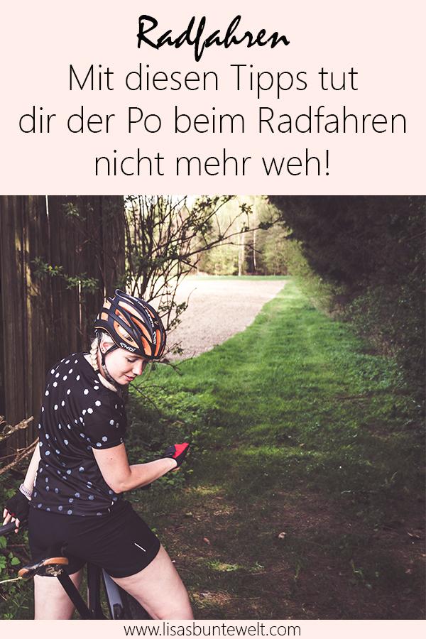 Mit diesen Tipps tut dir der Po beim Radfahren nicht mehr weh. Gonso.