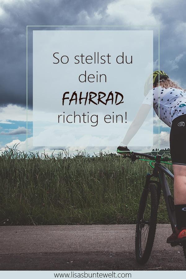 Fahrrad richtig einstellen und schmerzfrei Radfahren. So vermeidest du schmerzen beim Radfahren