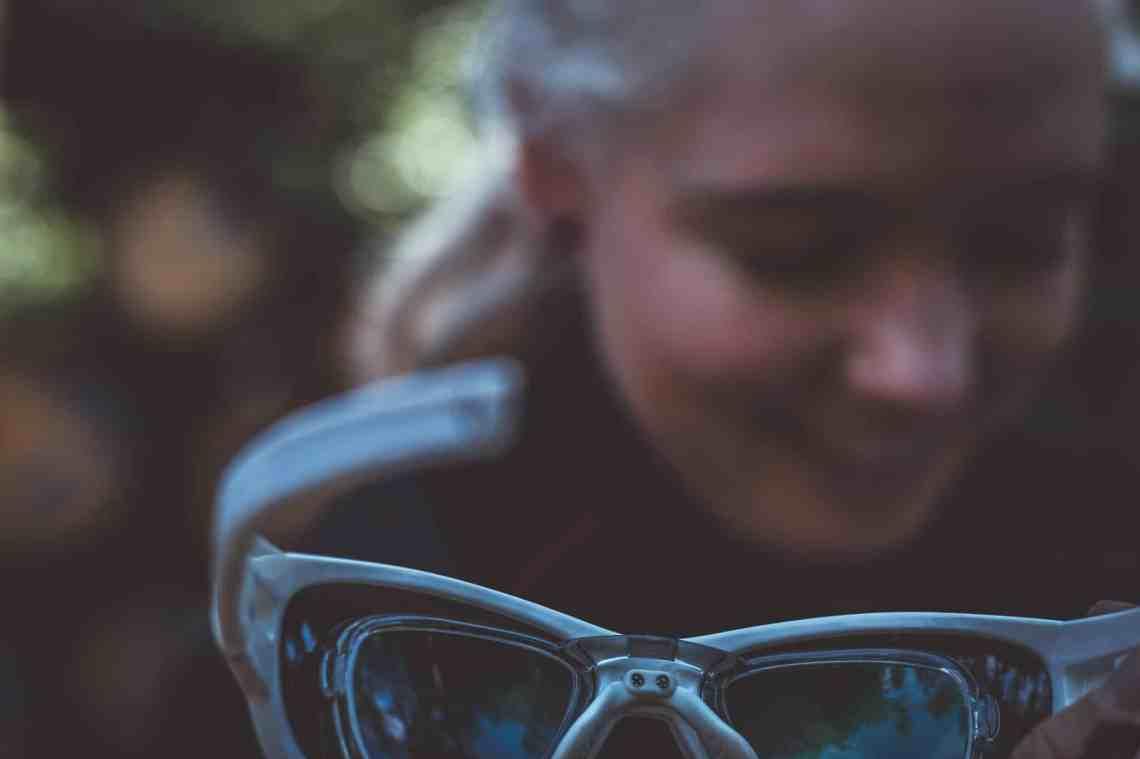 Fahrradbrille für Brillenträger mit Innenclip von Daisan