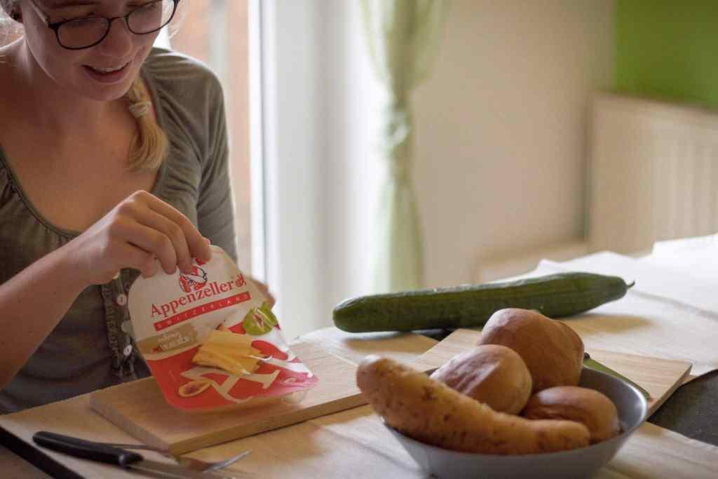 Kannst du mit Käse Abnehmen? Rezept mit Appenzeller.
