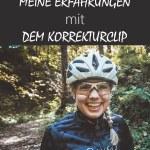 Erfahrungen mit dem Korrekturclip als Brillenträger beim Radfahren