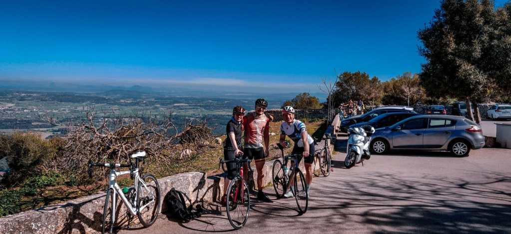 Aussicht auf dem Randa in Mallorca - Ein Muss für für jeden Rennradfahrer.