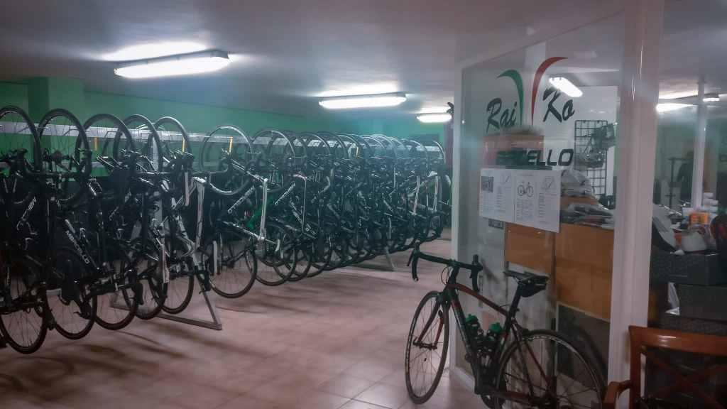 Bike-Station-Mallorca von RaiKo im Hotel THB Maria Isabel