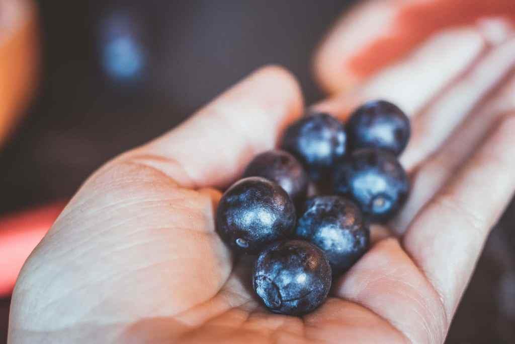 Beeren helfen beim Abnehmen, weil sie wenig Kalorien haben.
