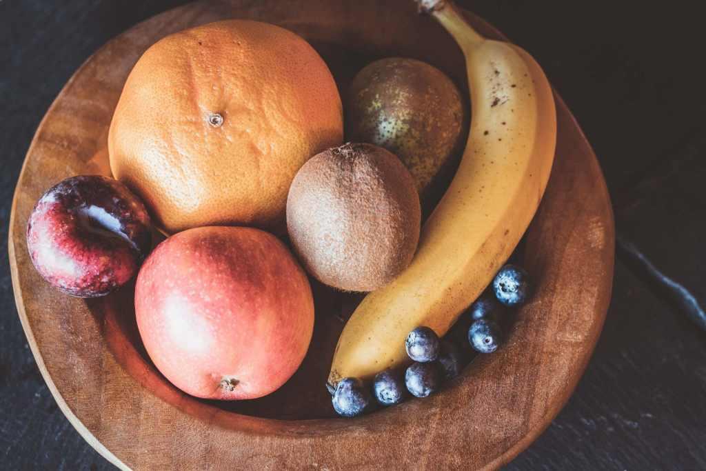 Früchte zum Abnehmen der Taille des