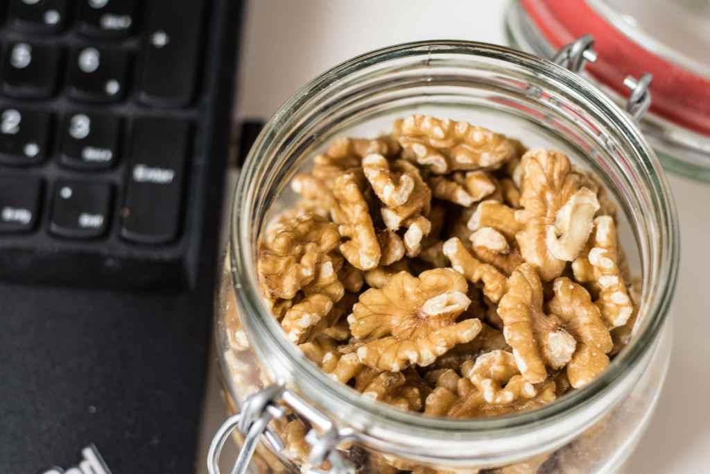 Nüsse als gesunder Snack für Zwischendurch und unterwegs.