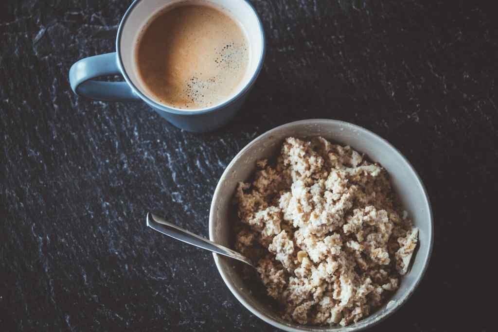 Protein-Porridge ist ein toller gesunder Snack.