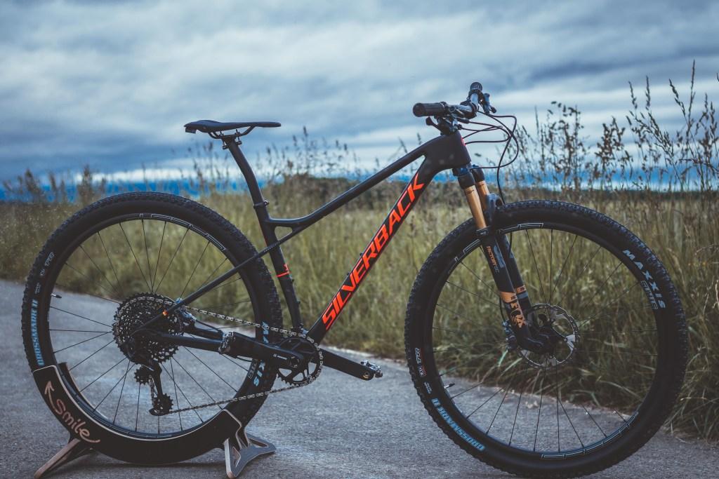 Meine Fahrrad Geschichte - Silverback Superspeed SBC Carbon Hardtail