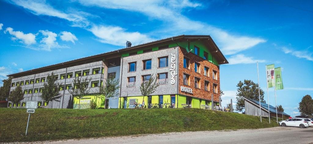 Explorer-Hotel Neuschwanstein in Nesselwang - Mountainbike Urlaub in den Allgäuer Alpen.