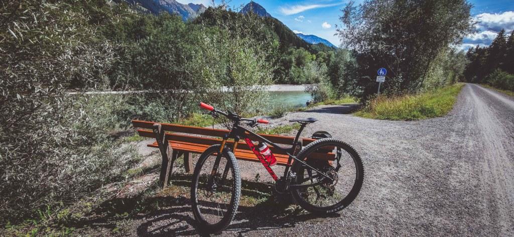 Illerradweg mit dem Mountainbike - Silverback Superspeed SBC
