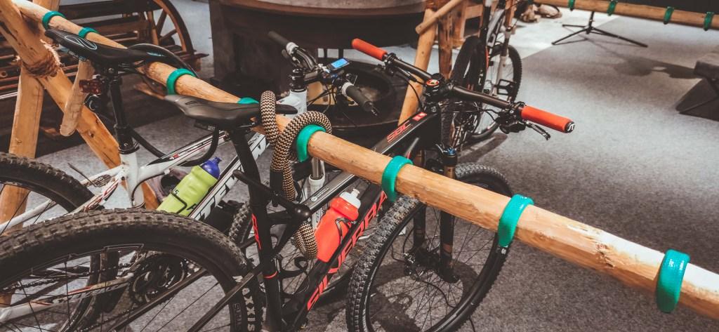 Fahrradraum im Hotel Alte Post Fieberbrunn - Aktivurlaub mit dem Mountainbike