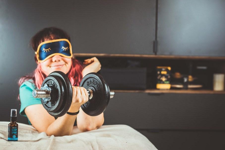 Schlaf Sportler Regeneration Sleep Spray Braineffect 6