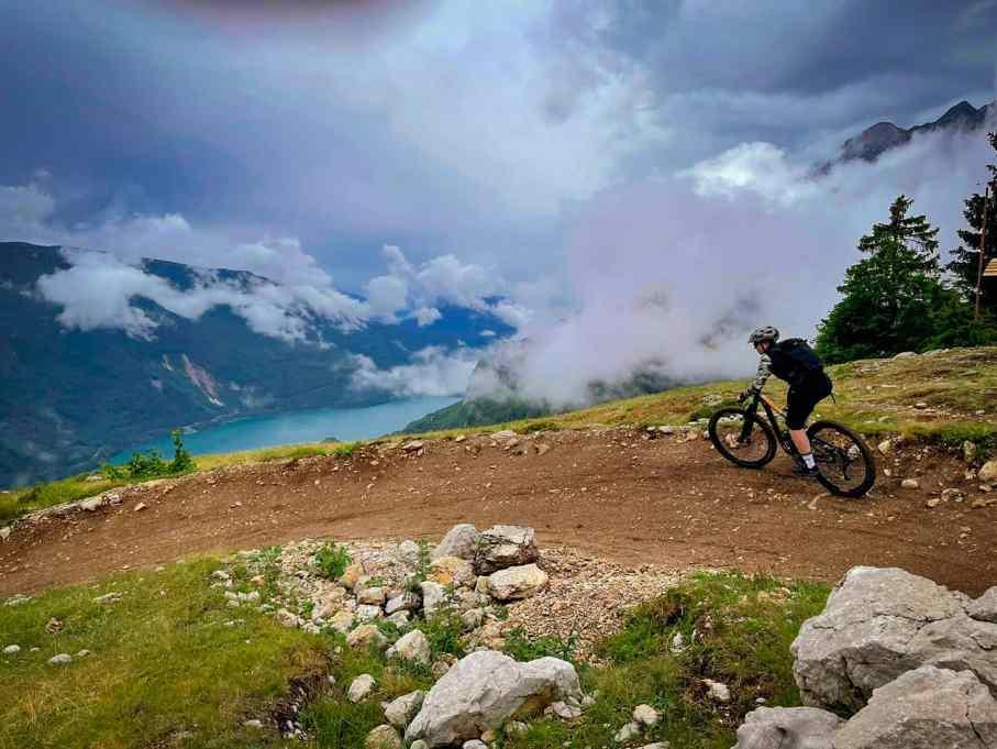 big hero trail molveno bike zone erste trail erfahrungen beginner anfaenger