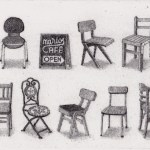 Prints Chairs Marios Etching
