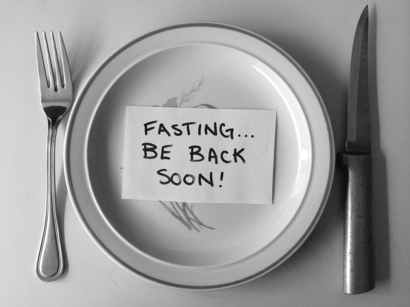 Health and Wellness Tip:  Maybe We Should Fast