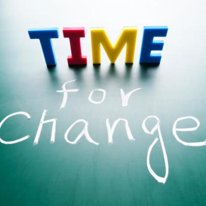 Are you in need of change?