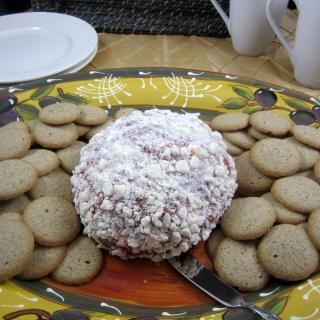 Totally Decadent Red Velvet Cheese Ball
