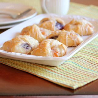 Incredibly Easy Fruit and Cream Cheese Danish