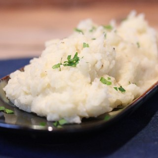 Easy Garlic Mashed Potatoes