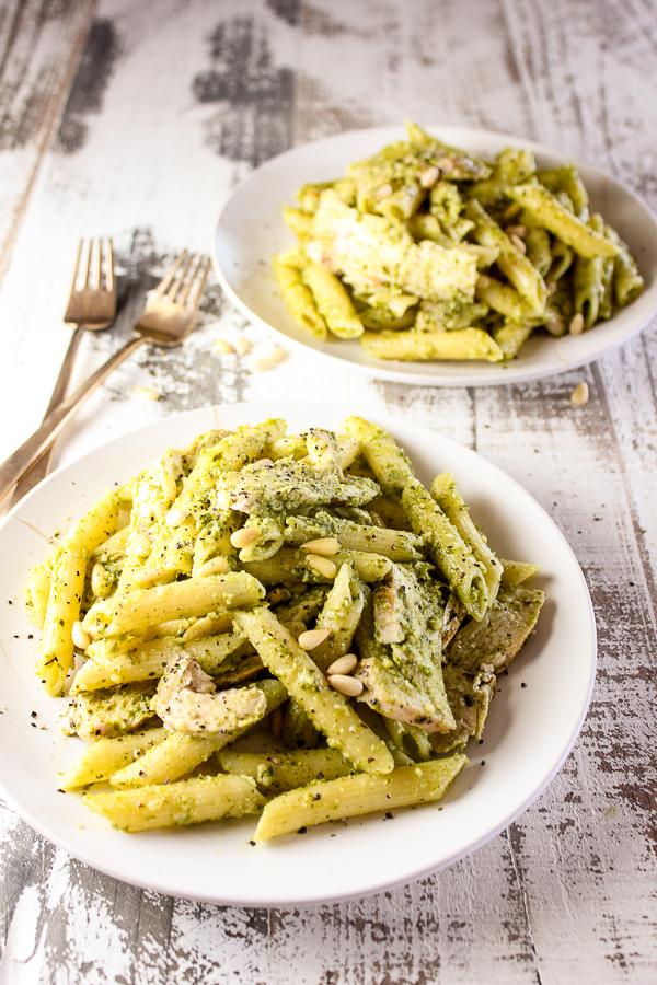 Grilled Chicken Pesto Pasta Lisa S Dinnertime Dish