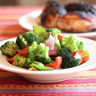 "Grilled Vegetable ""Stir Fry"""