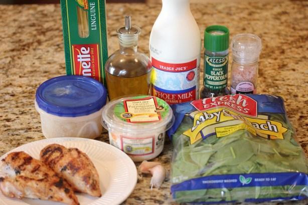 Part IV Budget Meals: Grilled Chicken Florentine Pasta ...