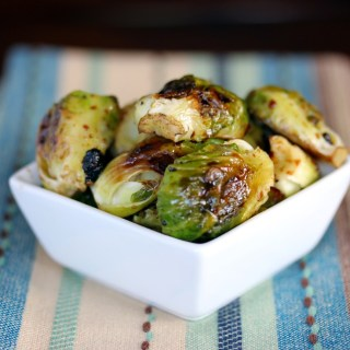 Balsamic Glazed Roasted Brussel Sprouts