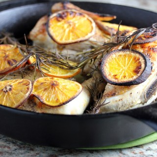 Roasted Citrus Rosemary Chicken