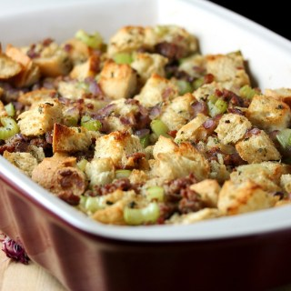 Sourdough Sausage Stuffing