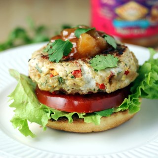 Open-Faced Thai Curry Turkey Burgers