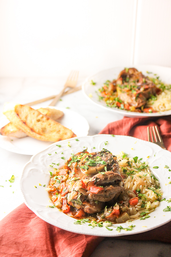 Veal Osso Buco is a delicious, rustic dish made with veal shanks and simple ingredients that you probably already have on hand.