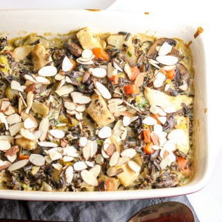 Make Ahead Chicken Wild Rice Casserole