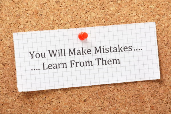 4 benefits of owning your mistakes