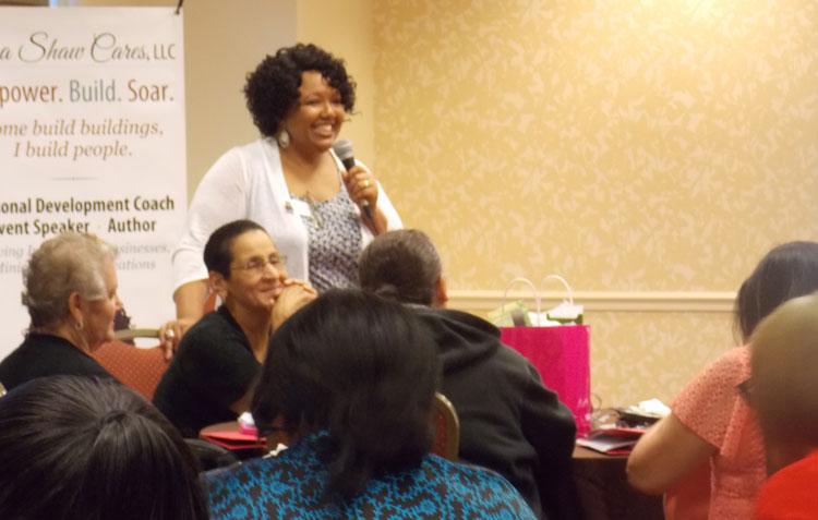 Lisa Shaw | Public Speaker | LisaShawCares, LLC