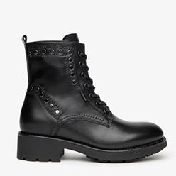 Murphys---Nerogiardini---Black-Leather-Stud-Biker-Boot