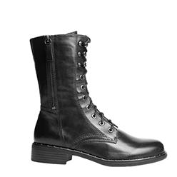 Murphys---Regarde-Le-Ciel---Black-Leather-Lined-Biker-Boots